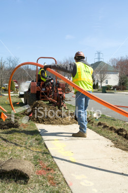 Cables, telecommunications, trenching